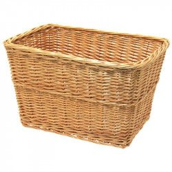Natural wicker basket Geneva