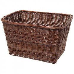 Wicker basket brown bike Geneva bike shop