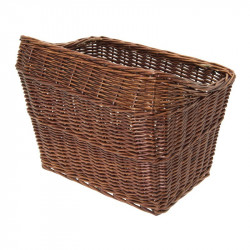 Copenhagen wicker basket bike brown online shop