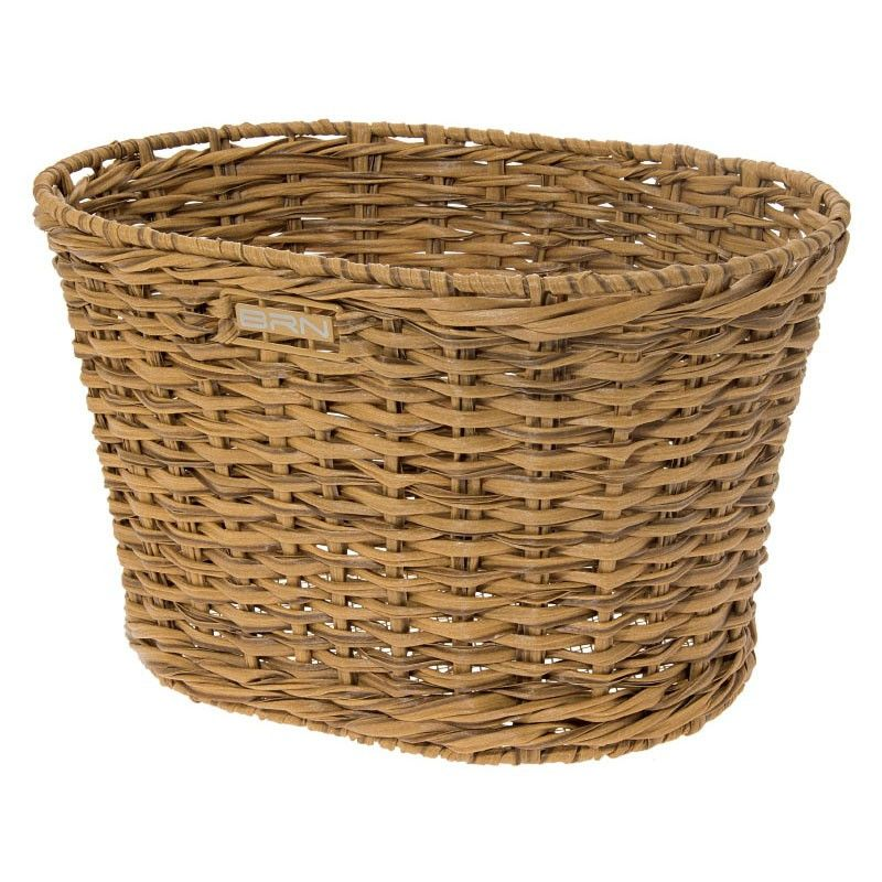 Rattan oval basket BRN natural BRN - 1