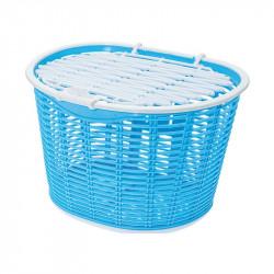 Cesto bicicletta anteriore Capri in plastica azzurro vendita online