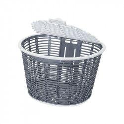 Basket bike front Capri plastic grigio online shop