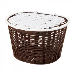 Basket bike front Capri plastic brown online shop