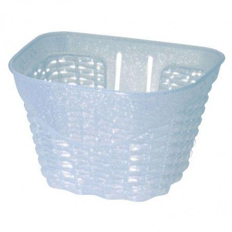 Happy baby white plastic basket