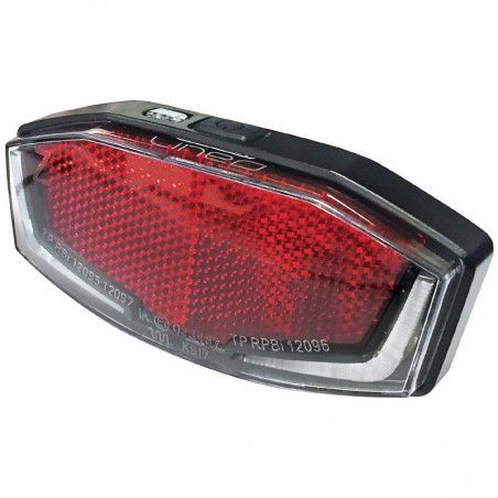 rearlight bike Lineo to package holding 2 Led high visibility online sale