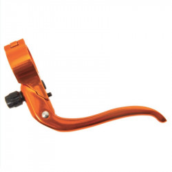 Single Speed Brake levers anodized orange