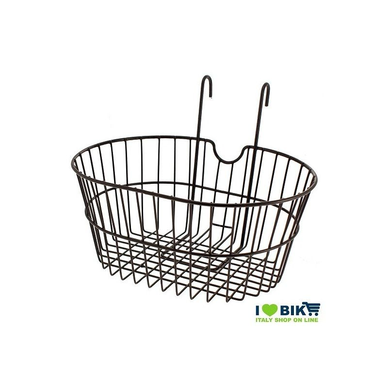 front basket with iron hooks black RMS - 1