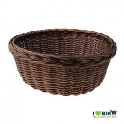Wicker Basket in Holland brown