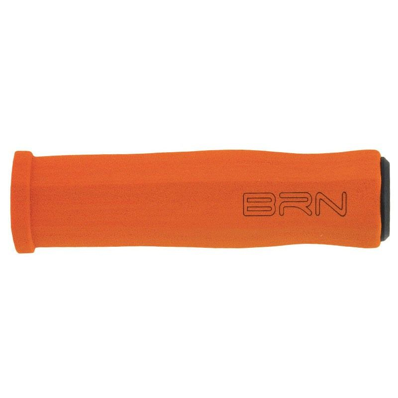 Coppia manopole fixed bike Neos in spugna arancio online shop