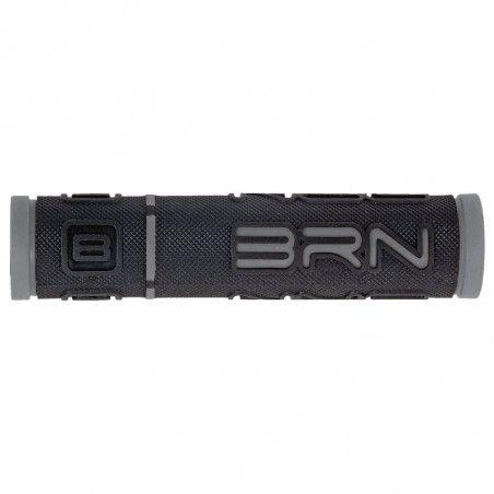 Coppia manopole bicicletta BRN B-One Grigie vendita online
