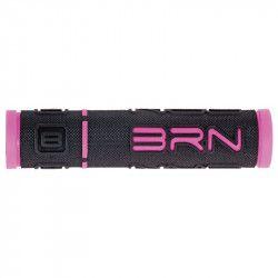 Coppia manopole bicicletta BRN B-One Rosa vendita online