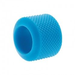 Ring knob fixed BRN-light blue rubber sale online
