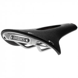 Saddle retrò Brooks Cambium C17  carved black shop online