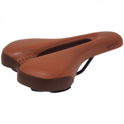 Ergonomic bike saddle brown/ honey Gel Man online shop