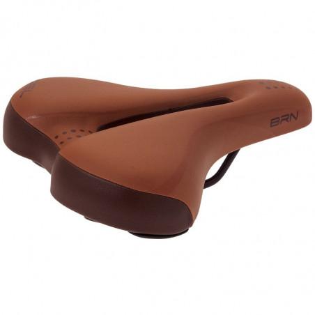 Ergonomic bike saddle brown/ honey Gel woman online shop