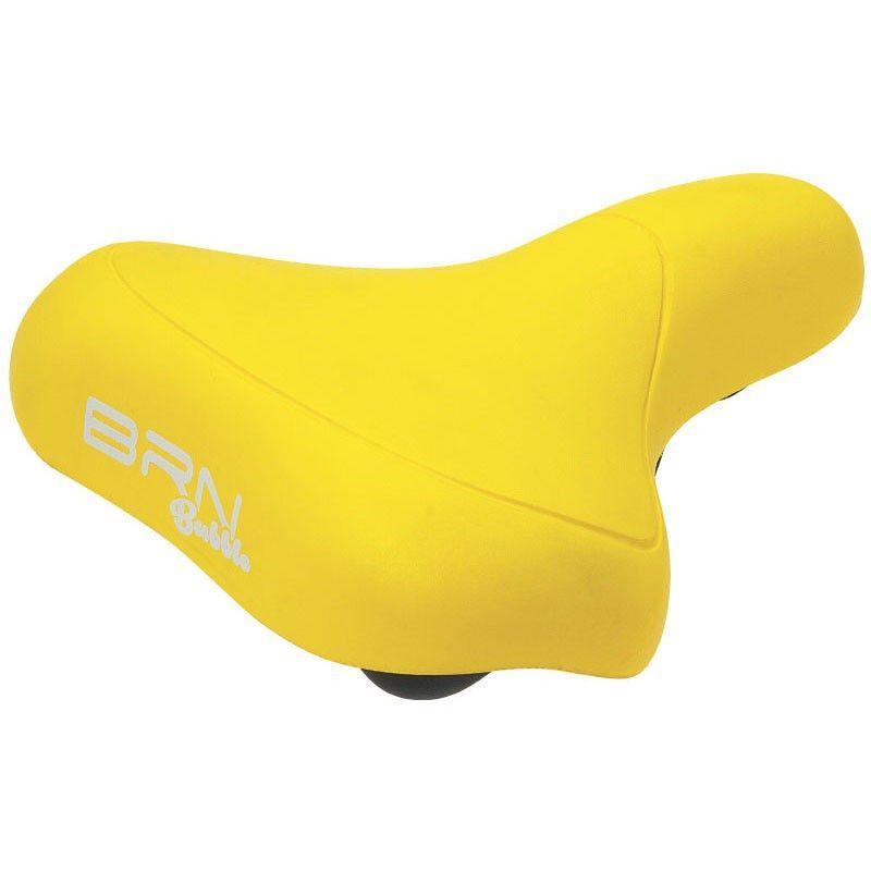 City bike saddle BRN BUBBLE yellow  sale online