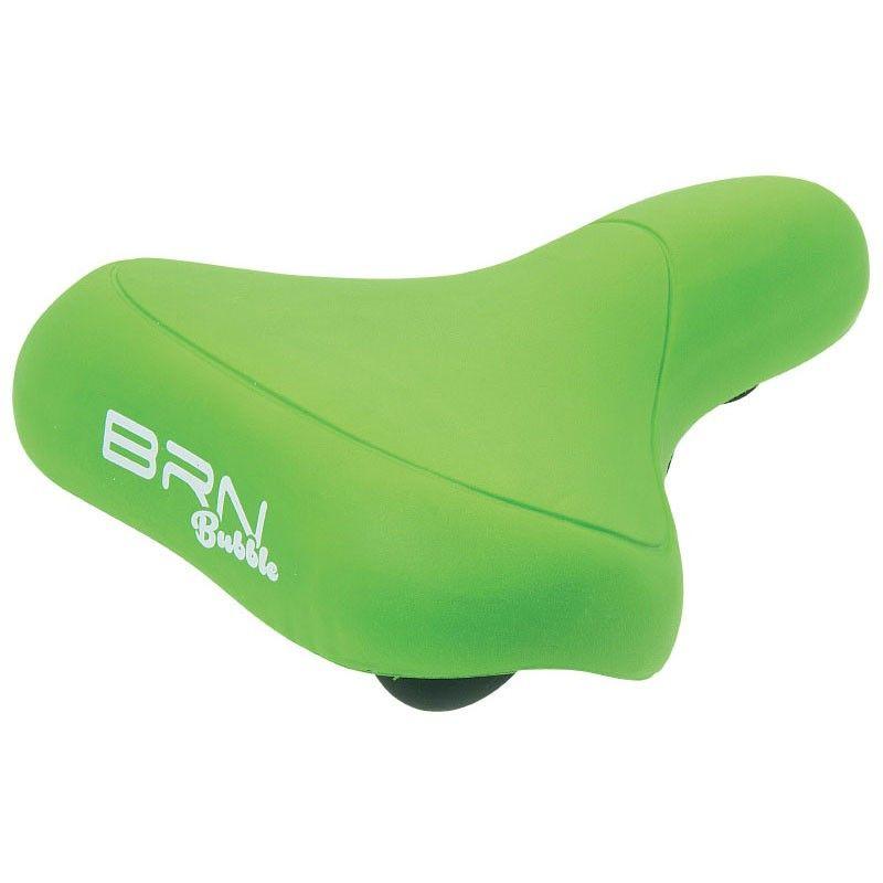 Saddle BRN BUBBLE green
