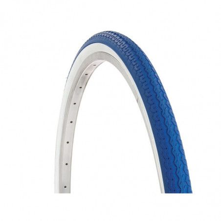 Tire for bike city bike 28 colored white / Blue shop online