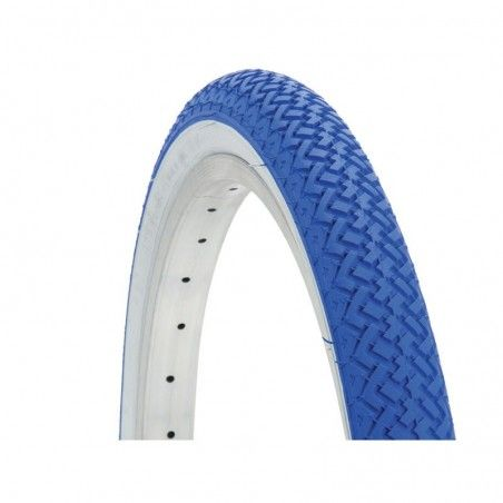 Tire colored graziella 20x1.75 white / blue sale online