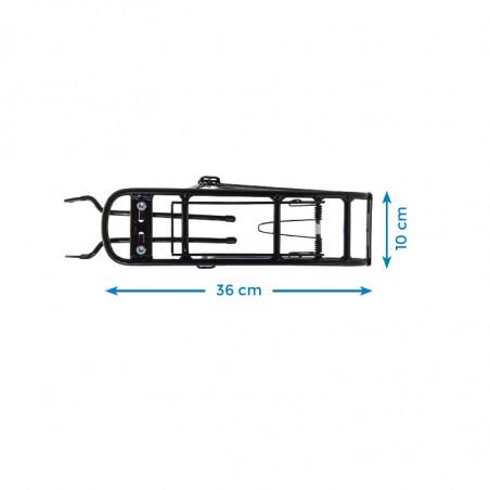 Rear luggage rack Condorino black shop online