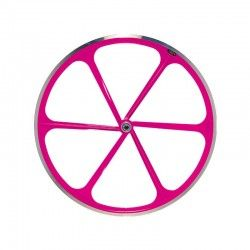 Rear wheel bike fixed fluorescent pink sale online
