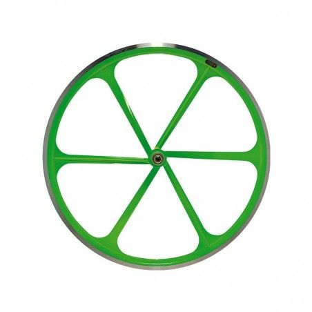 Rear wheel bike fixed fluorescent green sale online