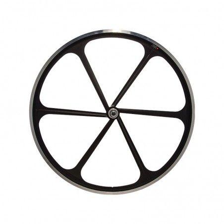 Rear wheel bike fixed 6-spoke black online shop