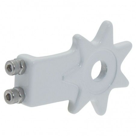 Coppia tendicatena per bicicletta single speed Star in alluminio bianco vendita online