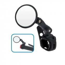 3D mirror adjustable strap to the handlebars