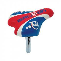Saddle child 12-16 red canoe with ⌀ 22 m