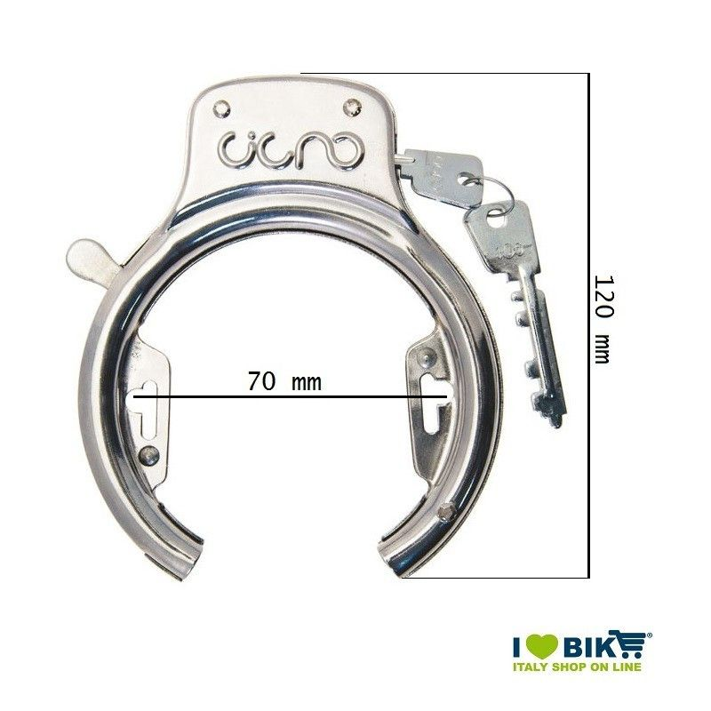 Padlock bicycle Cigno Classic R online store