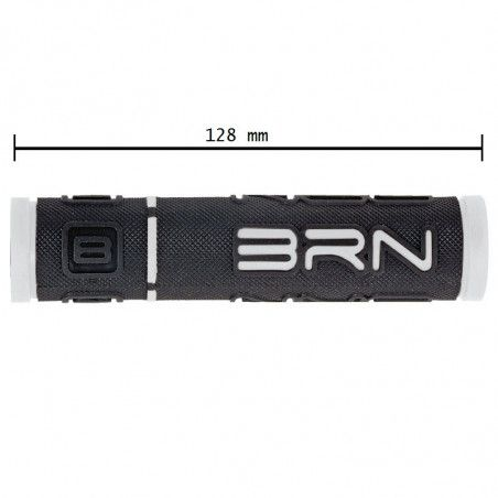 Coppia manopole bicicletta BRN B-One bianche vendita online