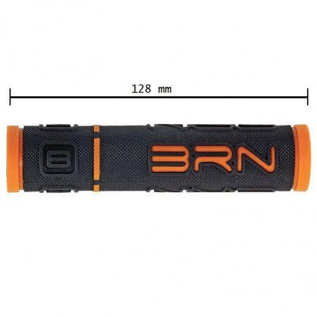 Coppia manopole bicicletta BRN B-One Arancio vendita online