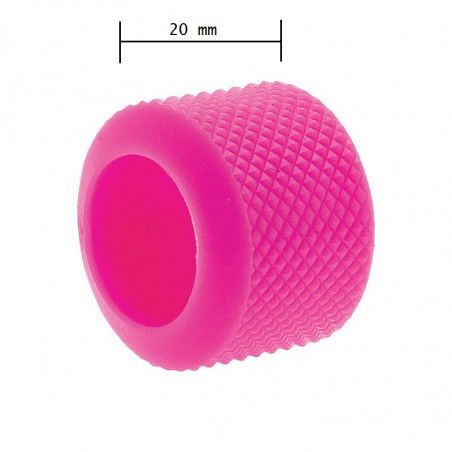 Ring knob fixed BRN-pink rubber sale online