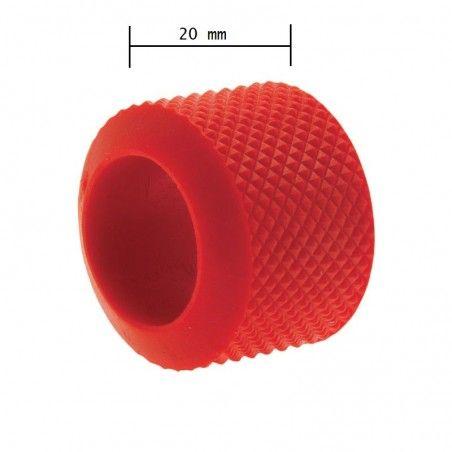 Ring manopola fixed BRN color rosso gomma vendita online