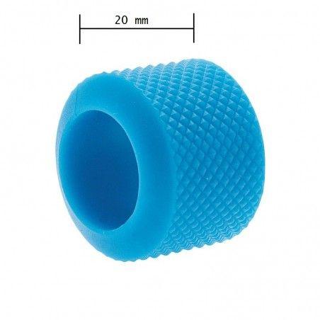 Ring knob fixed BRN-light blue rubber sale online