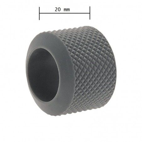 Ring knob fixed BRN-gray rubber sale online