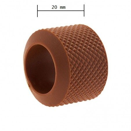 Ring knob fixed BRN-brown rubber sale online