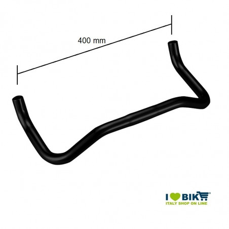 Fixed handlebars Aero black fixed bike online shop