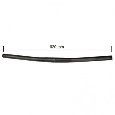 aluminum handlebars MTB black