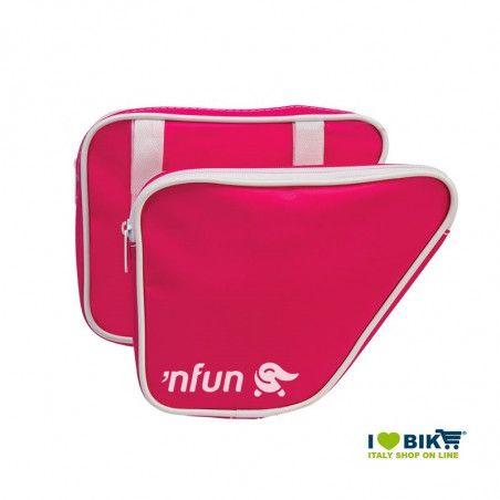 Borse laterali bici bimbo 'NFUN 'N BAGS Fluo Fuxia online shop