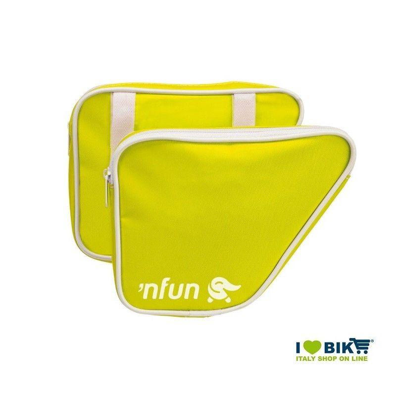 Borse laterali 'NFUN 'N BAGS Giallo Fluo  - 1