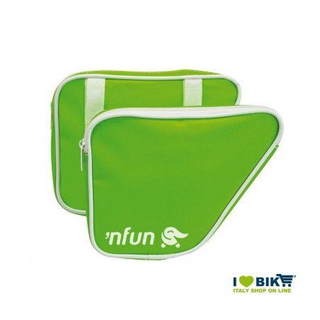 Borse laterali bici bimbo 'NFUN 'N BAGS Fluo Verde online shop