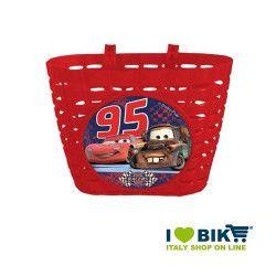 Cesto bicicletta bimbo Cars vendita online