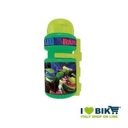 Ninja turtles canteen with bottle cage