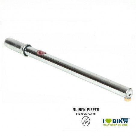 Pompa al telaio per bicicletta Mijnen Pieper in acciaio cromato vendita online