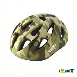 Casco bici sky kid verde militare taglia S vendita online