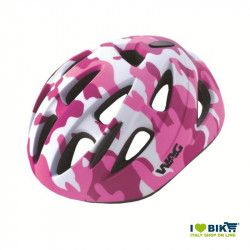Bicycle helmet kid military sky pink size S sale online