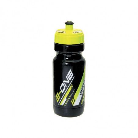 Borraccia BRN B-ONE 600 ml. - Nera/giallo fluo bike store