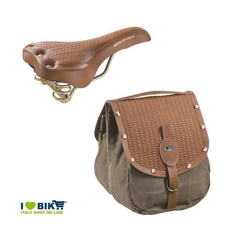Kit Vintage saddle bags saddlebag British style honey online shop